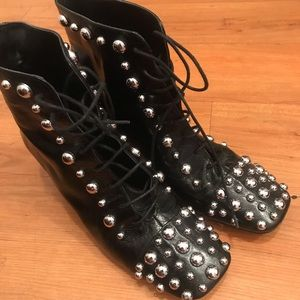 High Fashion Studded Booties